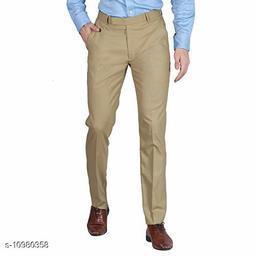 Beautiful Cotton Men'S Regular Fit Casual Trouser