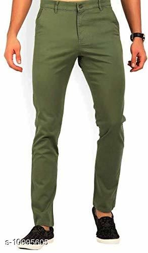 Rd Collection Men'S Regular Fit Casual Trouser