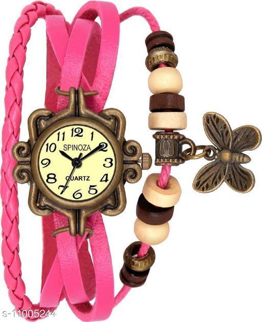 MMD B01PDN01 Brown vintage butterfly stylish watch Analog Watch
