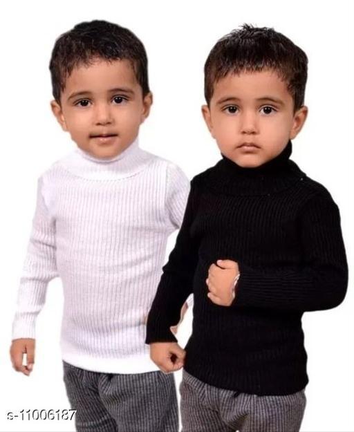 Agile Elegant Boys Sweaters