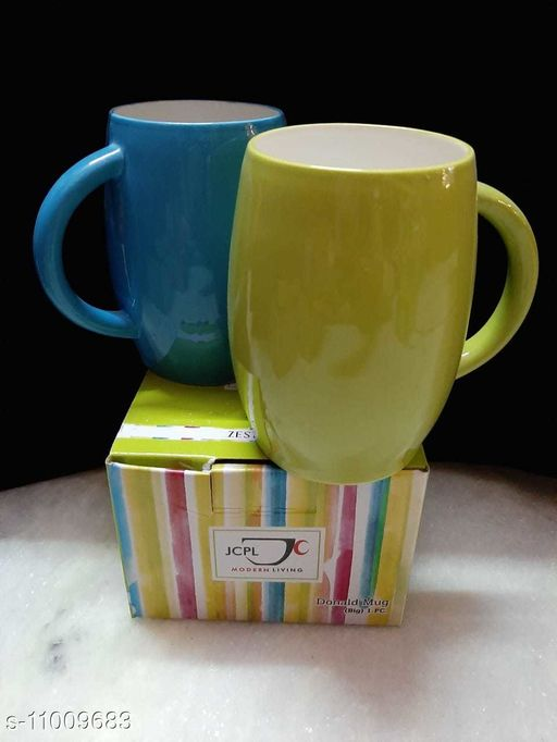 Others Modern Cups, Mugs & Saucers  *Country of Origin* India  *Sizes Available* Free Size *    Catalog Name: Wonderful Cups, Mugs & Saucers CatalogID_2041765 C84-SC1284 Code: 873-11009683-