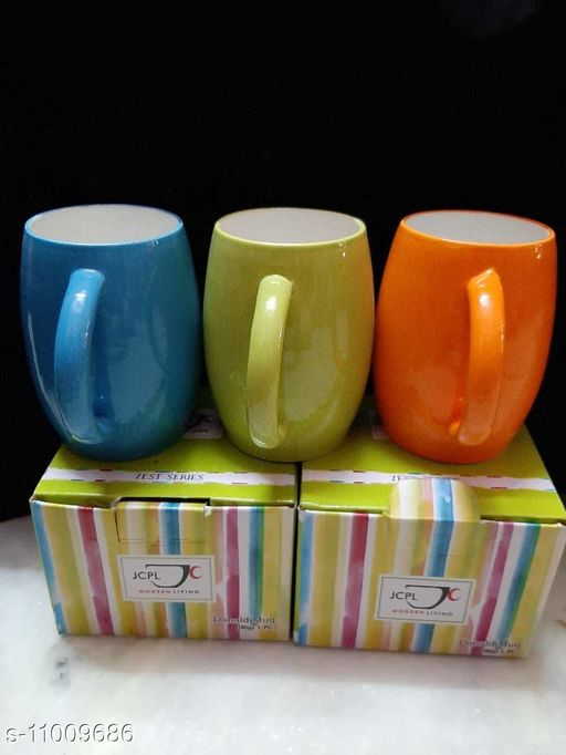 Others Essential Cups, Mugs & Saucers  *Country of Origin* India  *Sizes Available* Free Size *    Catalog Name: Wonderful Cups, Mugs & Saucers CatalogID_2041765 C84-SC1284 Code: 873-11009686-