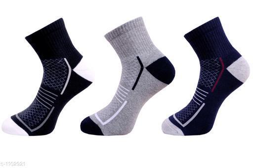 Men's Dailywear Terry Cotton Socks Combo