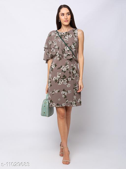 Sheczzar  STONE  Color  Regular fit  Midi  Dress