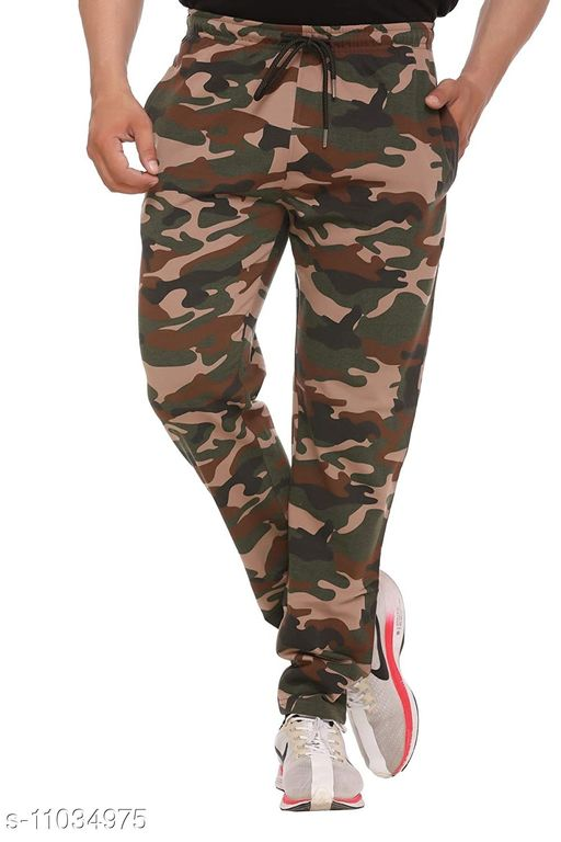 Men Camouflage Cotton Trackpant