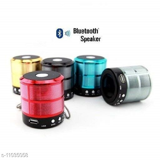 Bluetooth Speakers  FLYBEAT Mini Bluetooth Speaker WS-887 with FM Radio, Memory Card Slot, USB Pen Drive, AUX (Multycolour)  *Product Name* FLYBEAT Mini Bluetooth Speaker WS-887 with FM Radio, Memory Card Slot, USB Pen Drive, AUX (Multycolour)  *Brand Name* FLYBEAT  *Material* Plastic  *Type* Wireless  *Compatibility* All Mobile Devices  *Color* Assorted  *Bluetooth Version* 4.0  *Charging Type* Micro USB  *FM* Yes  *USB* Yes  *MP3 Player* Yes  *Aux* Yes  *Micro SD* Yes  *Control Button* Yes  *Sweat Proof* Yes  *Mic* Yes  *Sports Earphones* No  *Sizes*  Free Size  *Country of Origin* India  *Sizes Available* Free Size *    Catalog Name: FLYBEAT Bluetooth Speakers CatalogID_2047716 C88-SC1330 Code: 444-11035058-