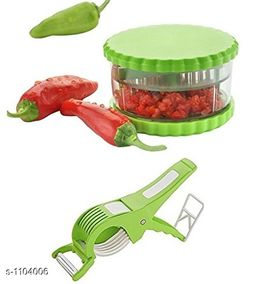 Combo Of Multi Crusher With Mirchi Cutter