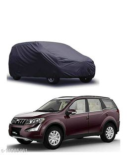 Car Body Cover For Mahindra XUV 500 Dust & Water Proof Colour Grey
