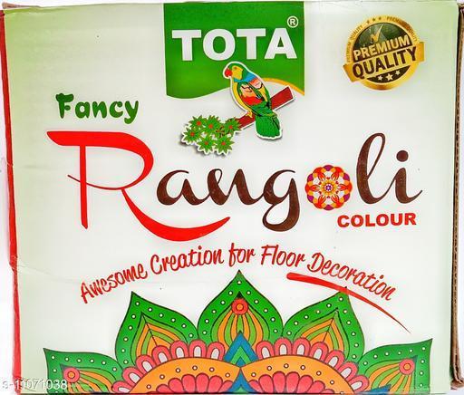 Tota Fancy premium quality rangoli powder
