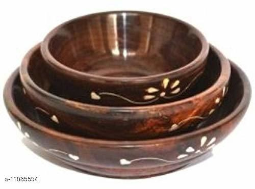 Others rc-bowl set of 3  *Country of Origin* India  *Sizes Available* Free Size *    Catalog Name: Classy Bowls CatalogID_2060249 C84-SC1284 Code: 693-11085594-