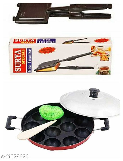 Sandwich Maker toaster with appam maker  *Pack* Multipack  *Sizes*  Free Size  *Country of Origin* India  *Sizes Available* Free Size *    Catalog Name: Wonderful Toasters CatalogID_2063409 C104-SC1490 Code: 376-11098696-