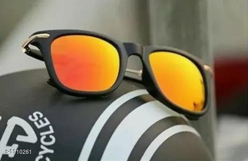 Stylish Men's Yellow Sunglasses