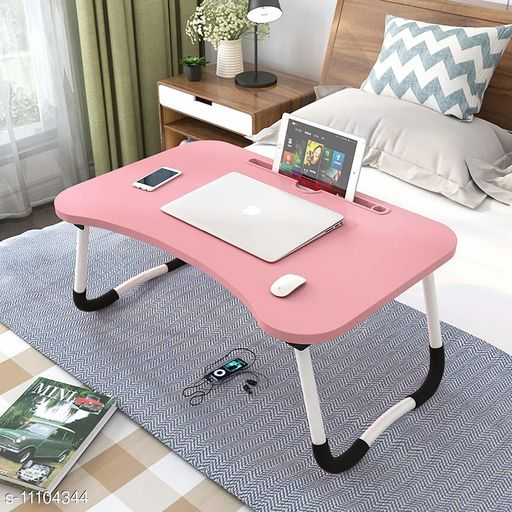 Laptop Adaptor Multi-Purpose Foldable Laptop Table with Dock Stand & Cup Holder Foldable Adjustable Study Table Bed, Gaming Table  Table for Home Ergonomic & Rounded Edges Laptop Stand with Non-Slip Legs  Product Name: Multi-Purpose Foldable Laptop Table with Dock Stand & Cup Holder Foldable Adjustable Study Table Bed Gaming Table  Table for Home Ergonomic & Rounded Edges Laptop Stand with Non-Slip Legs Country of Origin: India Sizes Available: Free Size   Catalog Rating: ★4.3 (228)  Catalog Name: Laptop Adapters CatalogID_2064907 C106-SC1537 Code: 075-11104344-