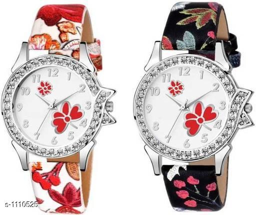 Trendy Analog Women's Watches( Pack Of 2)