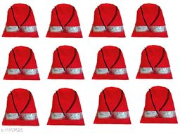 DIMONSIV Pack of 12 shoe pouch(Red)