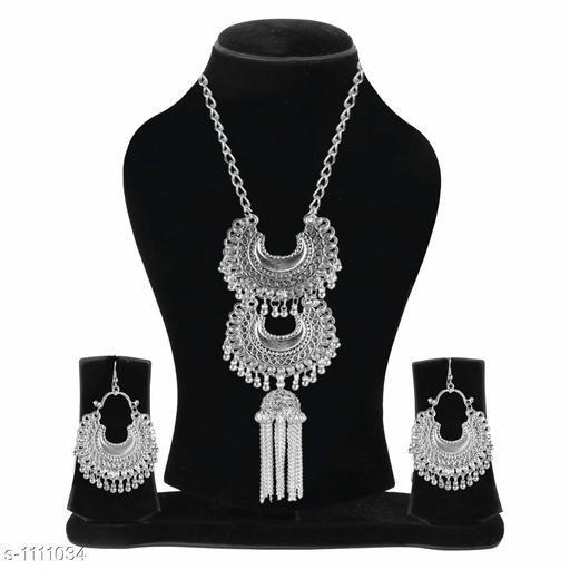 Oxidized Jewellery Set