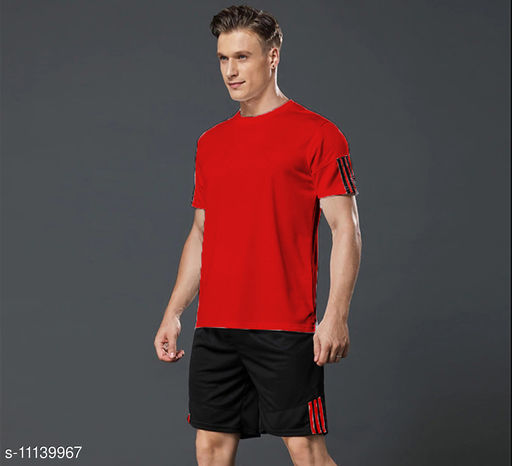 Joggers Park Dri-Fit Men Sports Top & Bottom Set