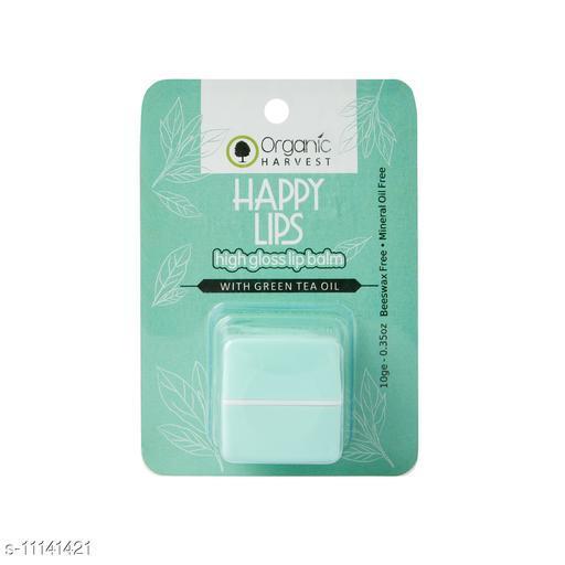 Organic Harvest High Gloss Lip Balm(Green Tea), 10gm