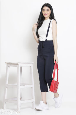 Vesture Forge Eye Catching Dungaree Crafted From Best Quality Stretchable Fabric For a Comfortable Wear
