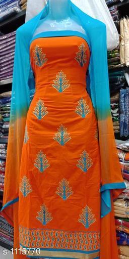 Attractive Cotton Suit & Dress Material