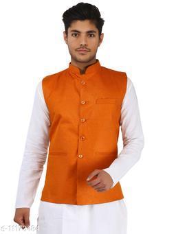 Solid Ethnic Jacket