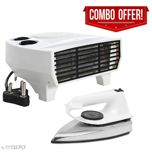 Fogger Smart 2000W Air Heater With White Dry Iron