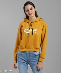 Mustard Fantastic Print SweatShirt