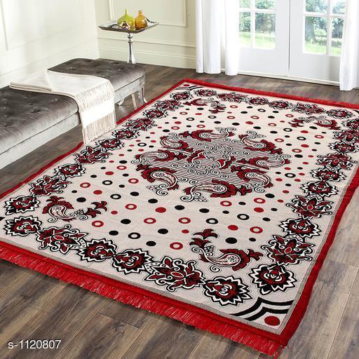 Premium Jacquard Weaved Cotton  Living Room Carpet
