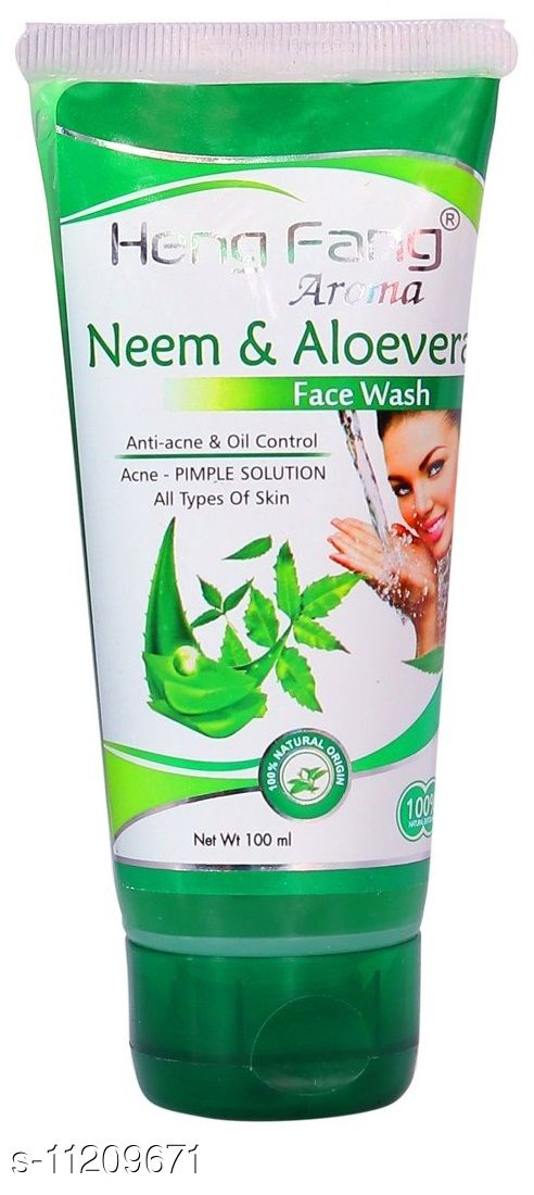 Heng Fang Aroma Neem & Aloevera Face Wash For Anti- Acne & Oil Control (100ml)