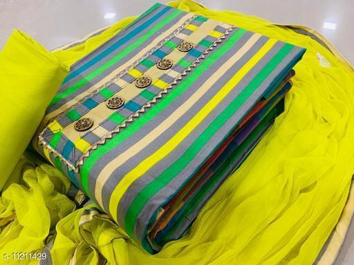 Trendy Cotton Women Suits & Dress Material