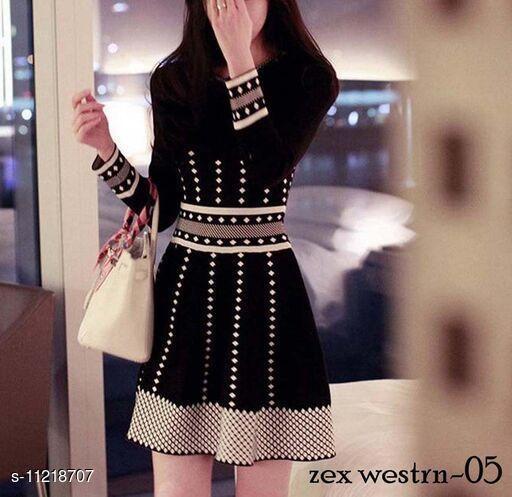 Trendy Muslin Dress