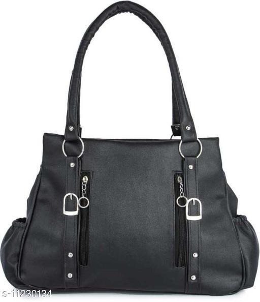 CLASSIC AND STYLISH WOMEN BLACK HAND BAG