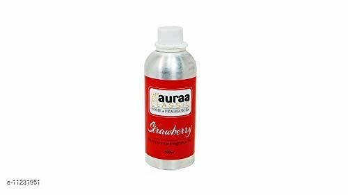 Asian Aura Strawberry Aroma diffuser oil highly Concentrated (Multipurpose Fragrances oil) - 500ml Pack Of 1