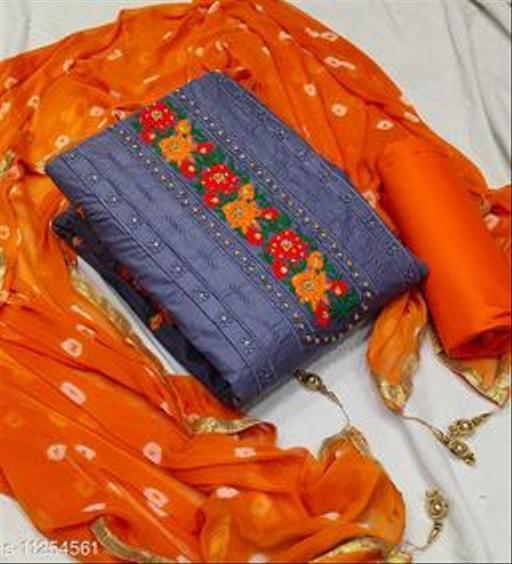 PC Cotton dress material