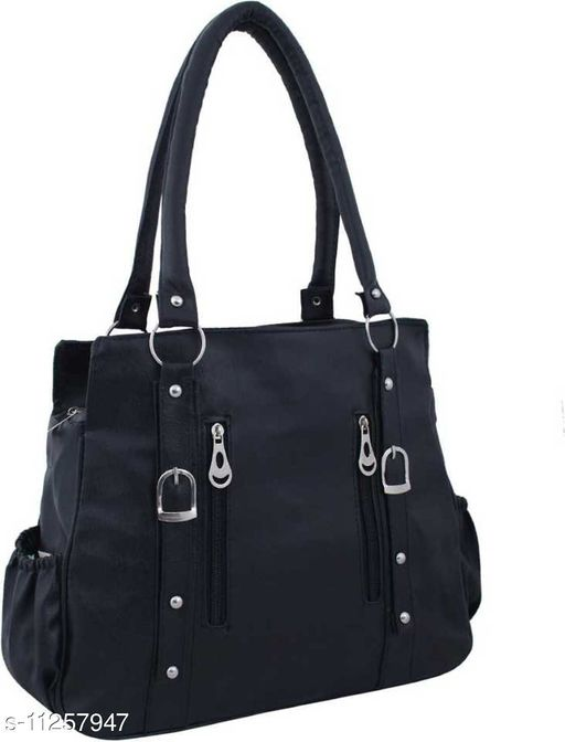 ELEGANT AND CLASSIC BLACK WOMEN SHOULDER BAG