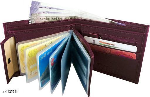 Men's Stylish PU Leather Wallets