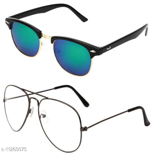 Alvia Combo of 2 Sunglasses Men & Women