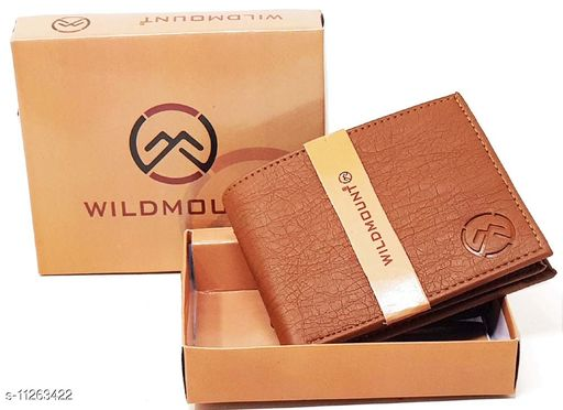 Wildmount Tan New Stylish trendy  Men's Artificial Leather Wallet