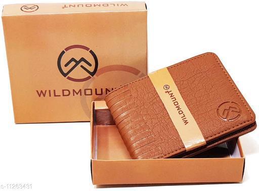 Wildmount Tan  New Trendy  Men's Artificial Leather Wallet