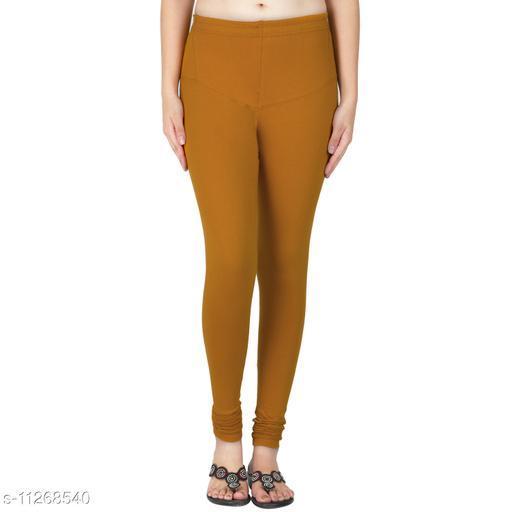 Trend Inn Designer Cotton Lycra Chudidar  Women Legging
