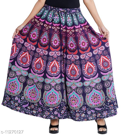 Fancy Printed Palazzo For Women
