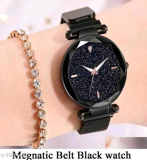 megnet strap watch for Girls/womesn