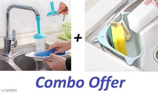 TENIDO New Sink Corner And Faucet Nozzle,Tap Combo For Home Utility