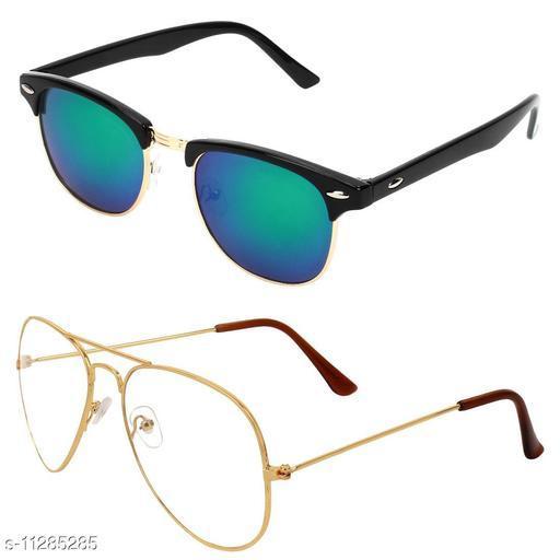 Eyekart Combo of 2 Sunglasses Men & Women