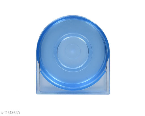 KPA Coaster Set of 6 With  Stand | Dsigner Coster | Multicolor | Attractive Round Shape