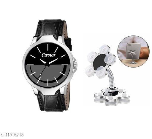 Combo Of watch with Mobile Stand