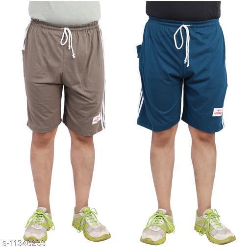 Men's Regular Shorts (Pack of 2)