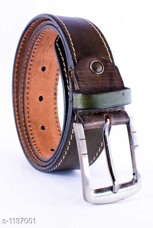 Stylish Formal Pure Leather Belts
