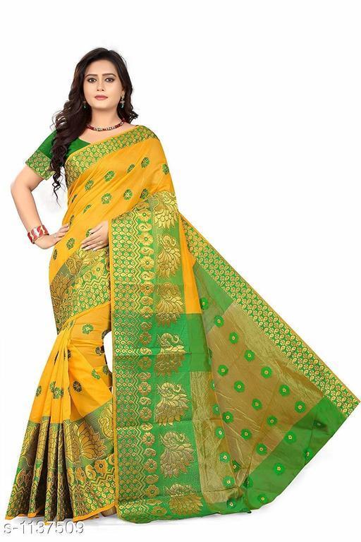 Fashionable Jacquard Saree