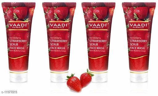 vaadi face wash strawberry